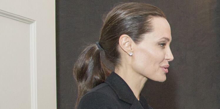 Photos : Angelina Jolie, toujours plus maigre, ne pèserait plus que 35 kg
