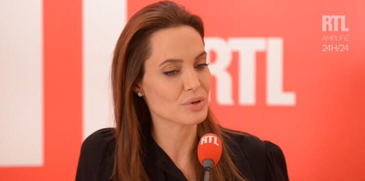 Angelina Jolie très émue par une fan ayant subi une mastectomie