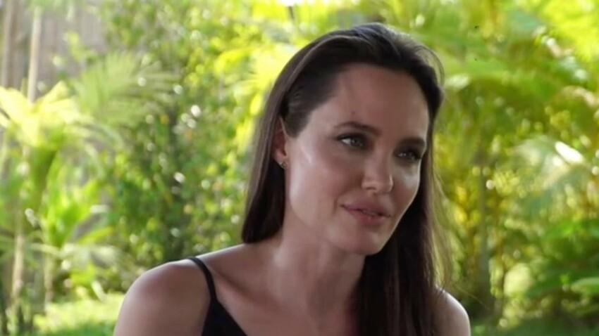Angelina Jolie se confie pour la première fois sur sa rupture avec Brad Pitt