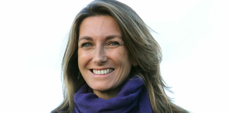 Anne-Claire Coudray enceinte de son premier enfant
