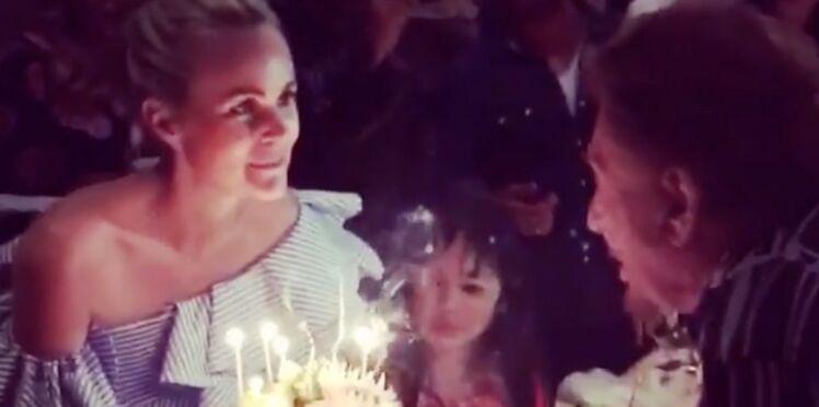 Comme si vous y étiez : Johnny Hallyday auprès de Laeticia pour son anniversaire