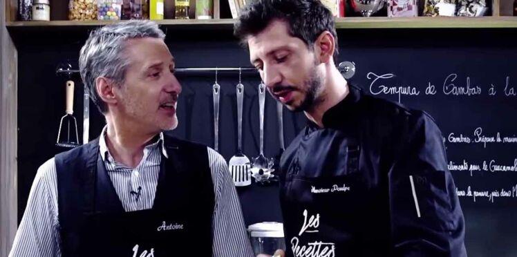 """Antoine de Caunes, nouvelle """"victime"""" de """"Les recettes pompettes"""""""