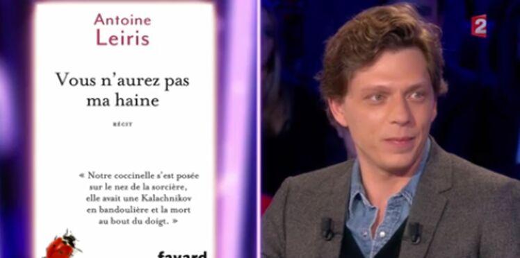 """""""Vous n'aurez pas ma haine"""" : Antoine Leiris, dont la femme a été tuée au Bataclan, livre un témoignage poignant dans ONPC"""