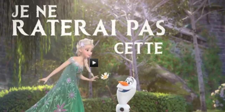 """""""Une Fête Givrée"""": la nouvelle chanson entêtante de """"La reine des neiges"""""""