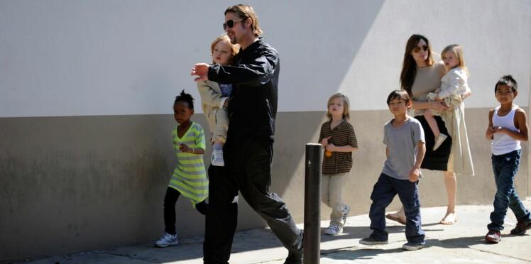 Brad Pitt et Angelina Jolie adoptent un nouvel enfant