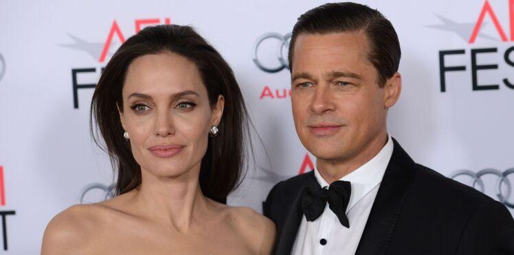 Brad Pitt et Angelina Jolie : le divorce annoncé