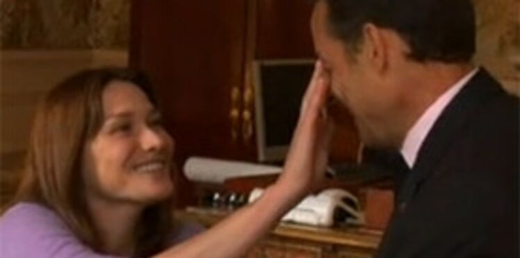 Carla Bruni chante à New-York pour Nelson Mandela