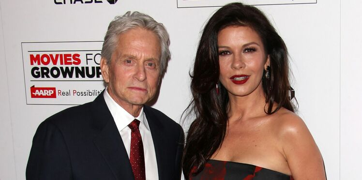 Photo: la réponse de Catherine Zeta-Jones et de Michael Douglas aux paparazzi