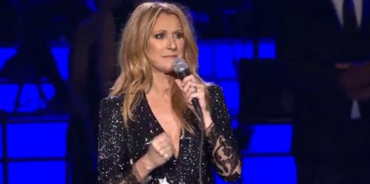 """(Vidéo) Pour son retour Céline Dion craque : """"C'était le show le plus difficile de toute ma vie"""""""