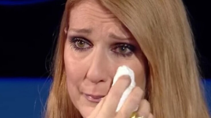 Céline Dion en larmes devant la jolie surprise faite par Robert Charlebois