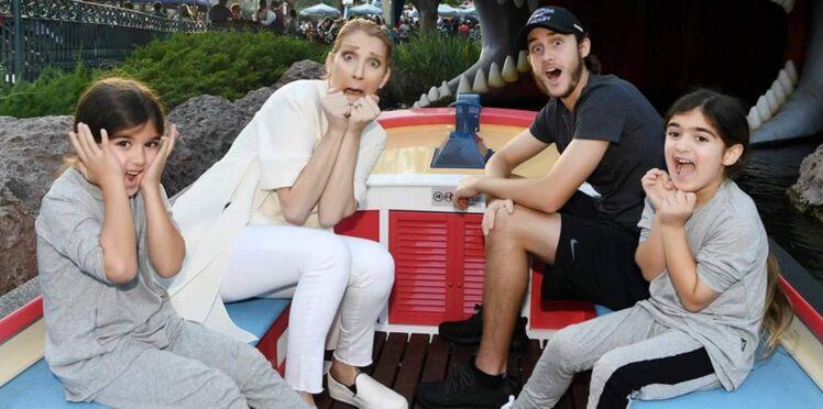 Photos : le premier anniversaire des jumeaux de Céline Dion sans leur père mais avec un René-Charles très attentionné