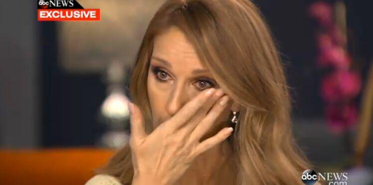 Céline Dion fond en larmes en évoquant la maladie de René Angélil