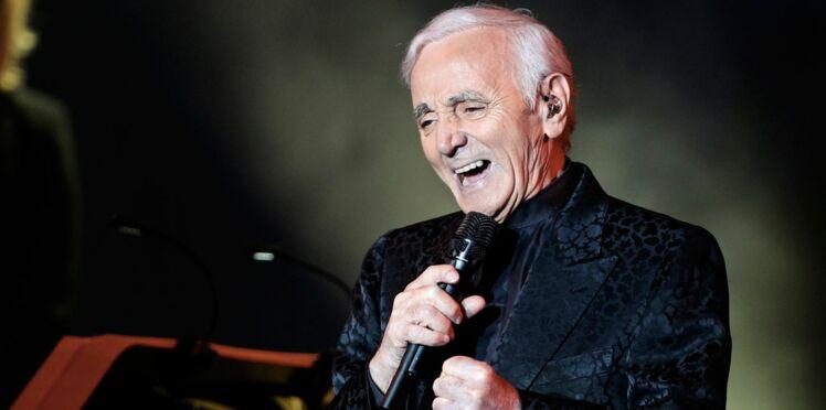 Charles Aznavour est de retour !