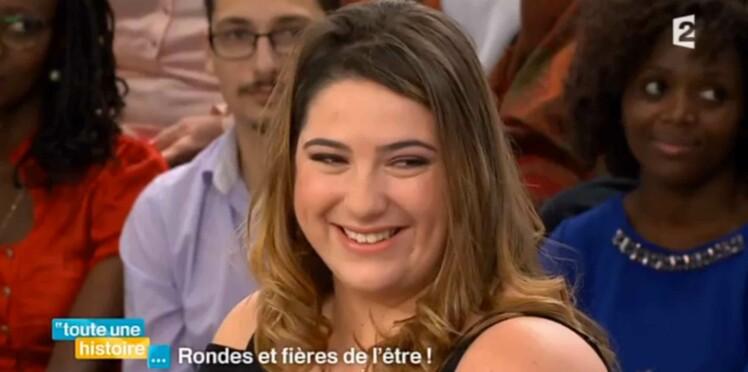 """Vidéo : la fille de Michèle Bernier, """"ronde, assumée, et amoureuse"""" !"""