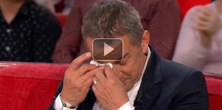 Christophe Dechavanne, en larmes devant la vidéo de ses filles