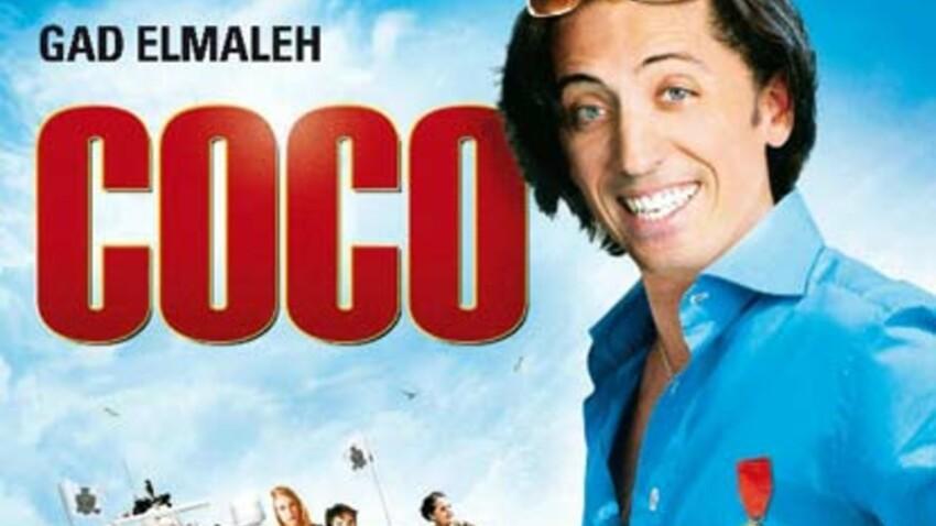 Sortie de Coco avec et de Gad Elmaleh