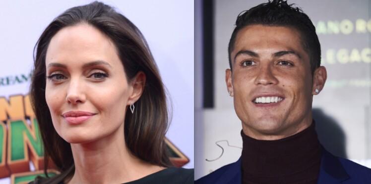 Cristiano Ronaldo et Angelina Jolie ensemble à l'écran!