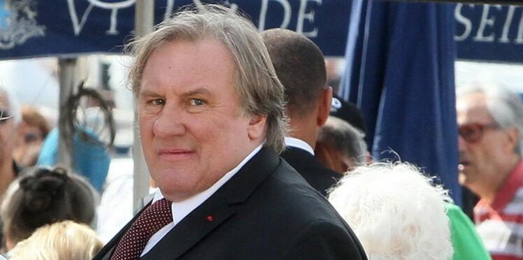 Gérard Depardieu, coincé dans un ascenseur