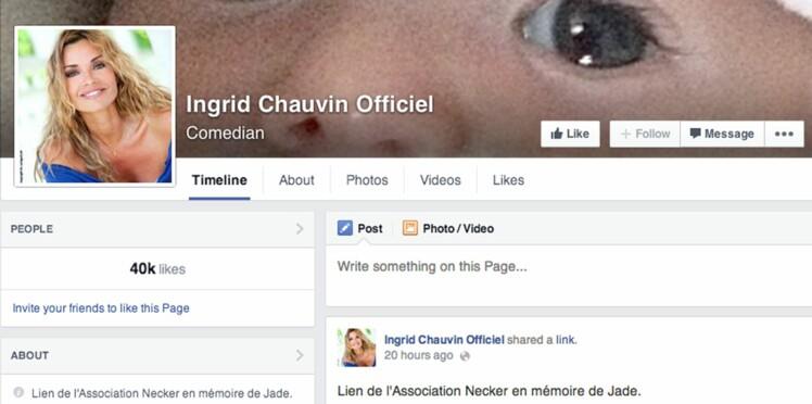 """""""En l'honneur de Jade"""", Ingrid Chauvin lance un appel aux dons pour les enfants malades"""