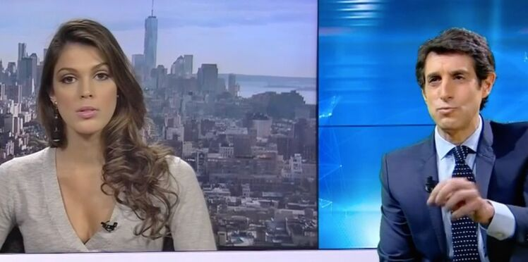 Iris Mittenaere : sa gaffe en direct sur BFM TV