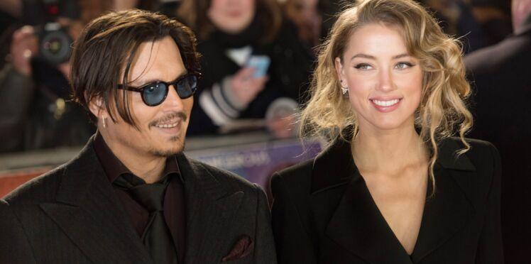 Johnny Depp et Amber Heard : les premières photos de leur mariage fuitent