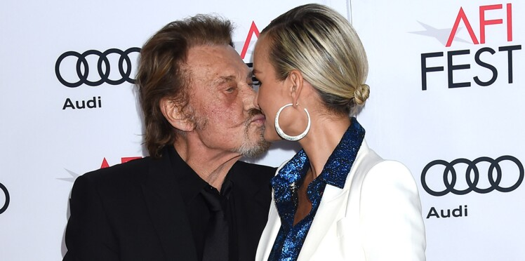 Photos - Johnny Hallyday : sa déclaration d'amour à Laeticia