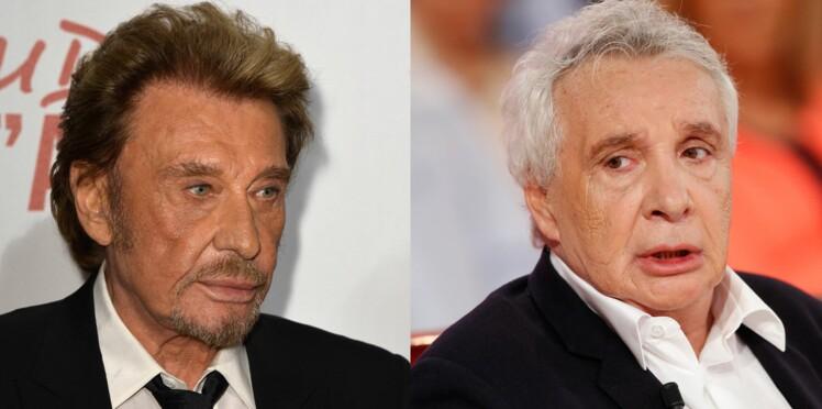 Johnny Hallyday et Michel Sardou : c'est (encore) la guerre