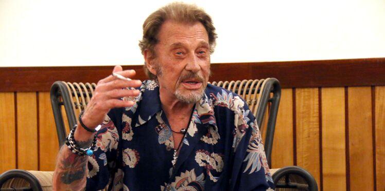 "Johnny Hallyday dit ""fuck"" au cancer"