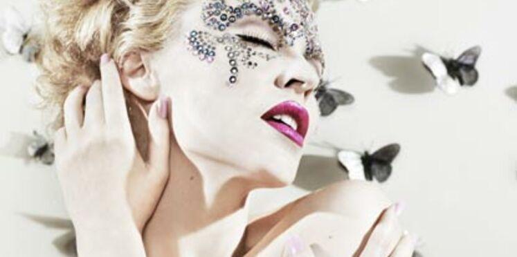 Kylie Minogue sur les Champs-Elysées