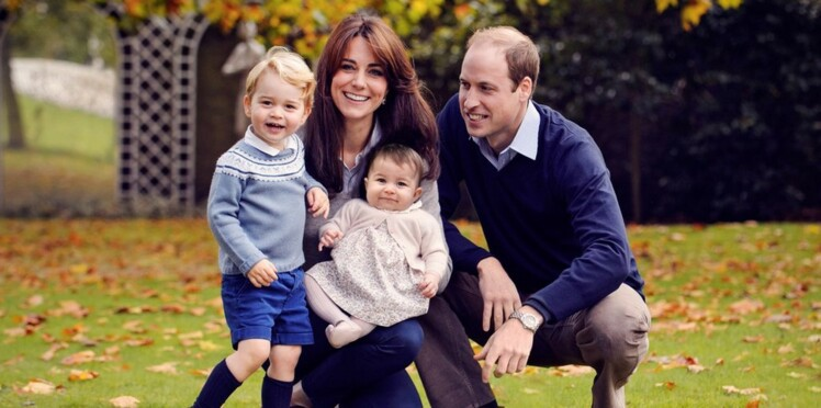 L'adorable photo de Noël de Kate, William, George et Charlotte