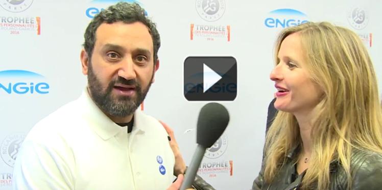 Vidéo exclusive: Découvrez ce que Cyril Hanouna a dans la raquette!