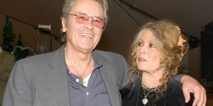 """Brigitte Bardot à Alain Delon pour son anniversaire : """"Je t'aime 80 fois"""""""