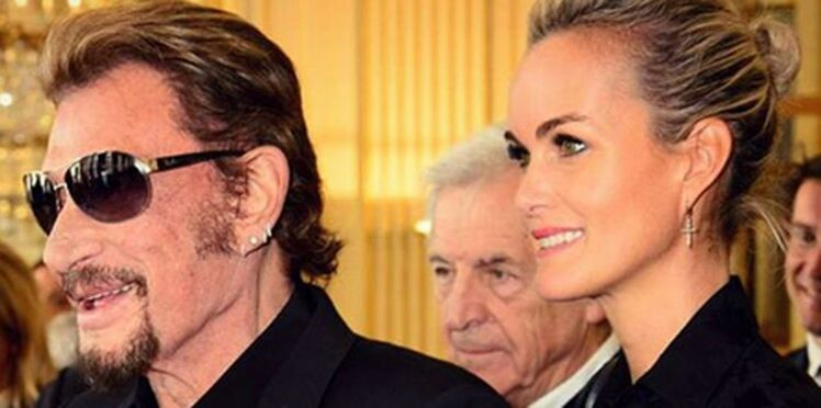 """Laeticia Hallyday: """"je dis merci à l'infidélité de Johnny"""""""