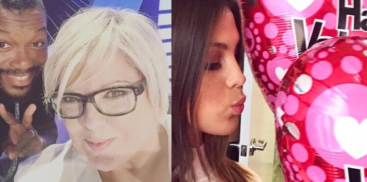 Laurence Boccolini, Iris Mittenaere dans la semaine people sur Instagram