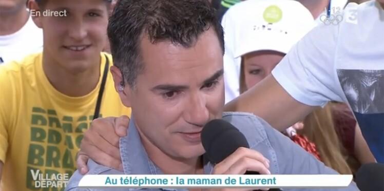 Laurent Luyat en larmes pour la dernière de Village départ