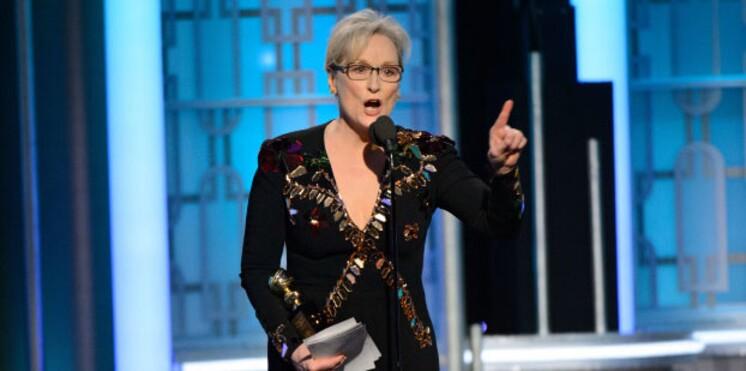 VIDEO – Le discours émouvant de Meryl Streep contre Donald Trump