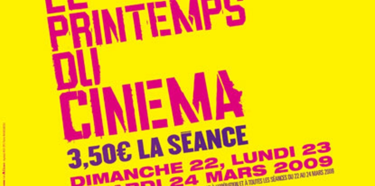 Le Printemps du Cinéma commence ce week-end