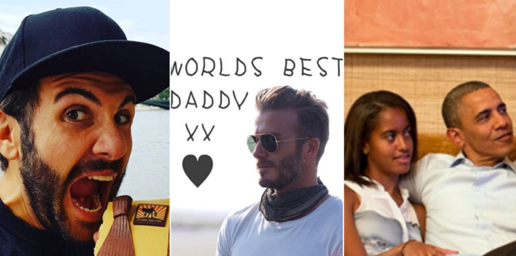 Laurent Ournac, Victoria Beckham, Barack Obama… les stars célèbrent la fête des pères