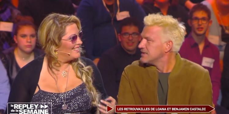 Loana et Benjamin Castaldi : les retrouvailles sur un plateau 16 ans après le Loft