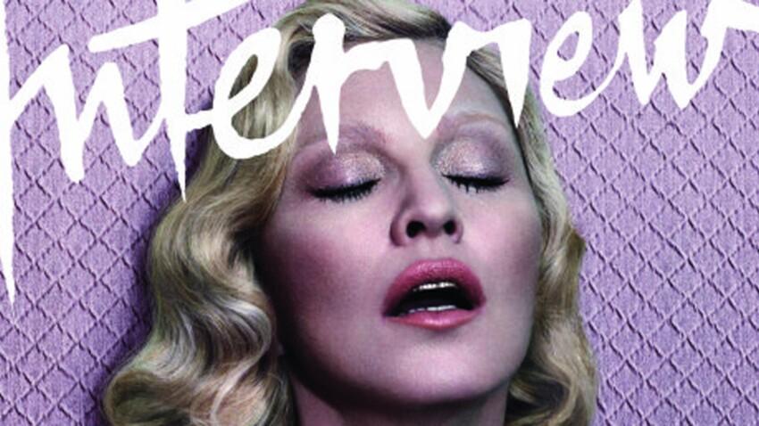Madonna toujours reine de la provoc' : elle pose topless !