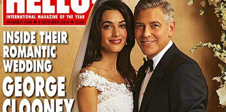 Mariage de George Clooney et Amal Alamuddin : les photos