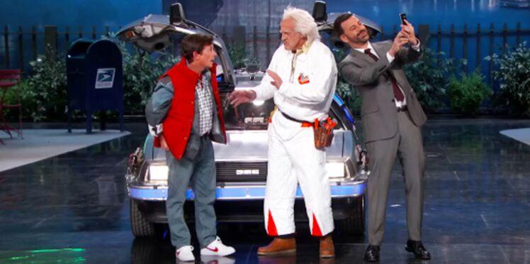 Marty McFly et Doc de Retour vers le futur débarquent en 2015… et sont déçus