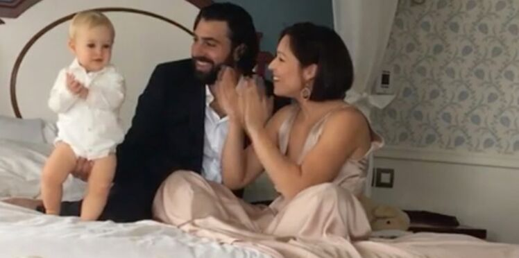 """Vidéo - Natasha St-Pier et son mari évoquent la santé de leur fils """"miraculé"""", Bixente"""