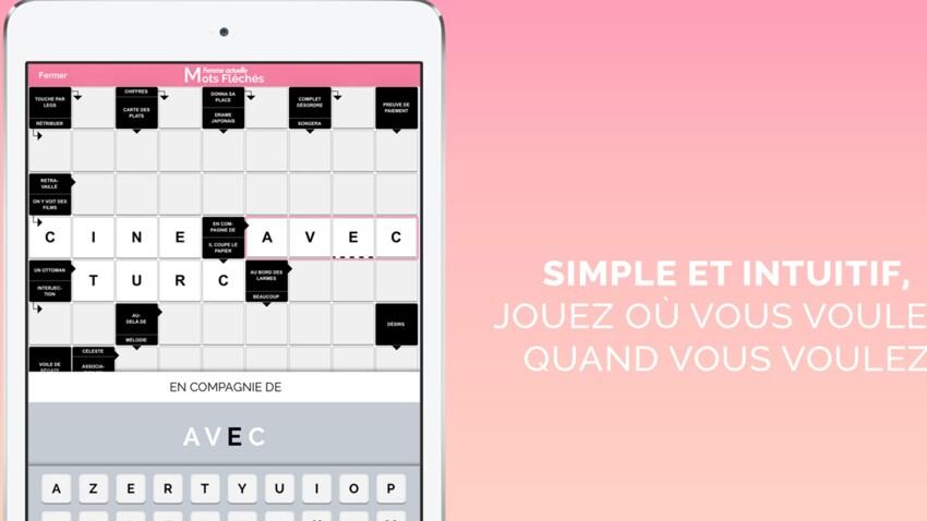 Les mots fléchés Femme Actuelle sur smartphones et tablettes font peau neuve