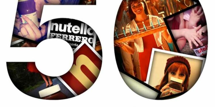 Nutella fête ses 50 ans et vous invite à souffler les bougies