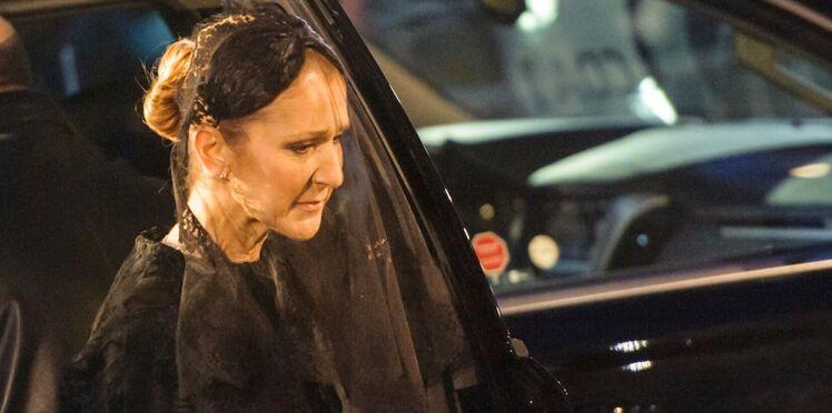 Photos : Céline Dion, ses derniers instants avec René Angélil à ses obsèques
