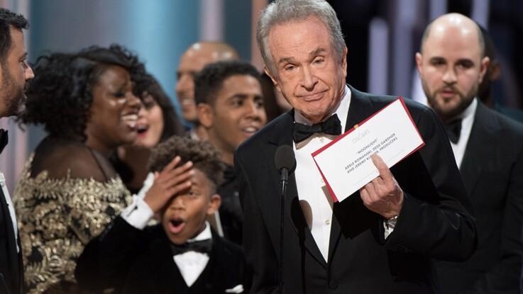 Oscars 2017 : l'incroyable bourde de Warren Beatty pour le prix du meilleur film