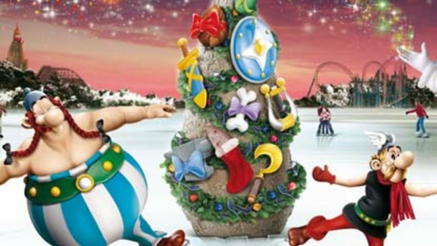 Le parc Astérix ouvert pour Noël