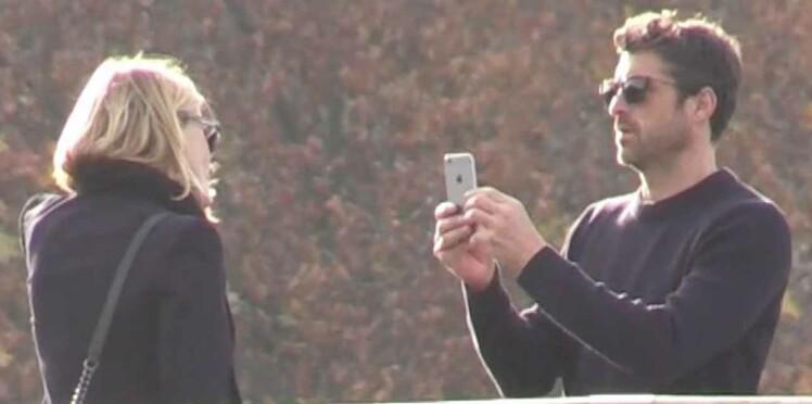 Photos : Patrick Dempsey, surpris à Paris, très amoureux... de son ex !