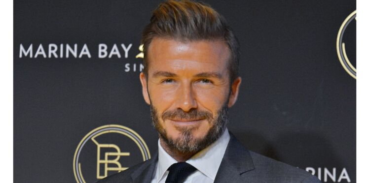 Photo : le beau David Beckham défiguré !